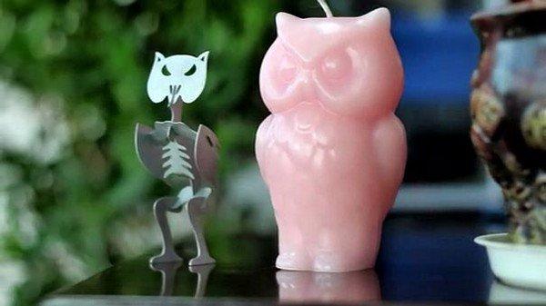 owl skeleton