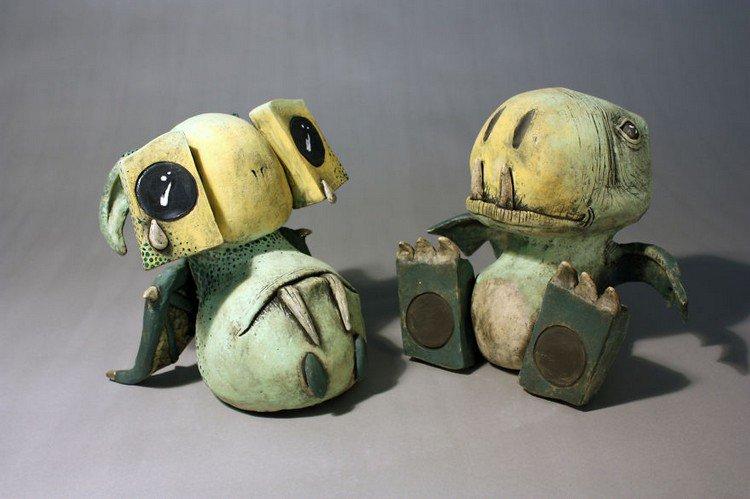pair sad little monsters