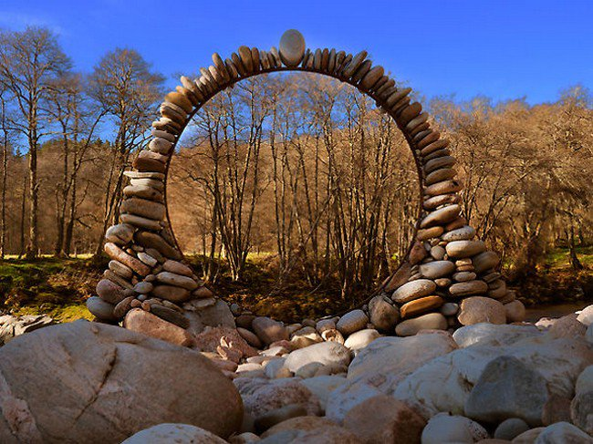 pebble ring forest