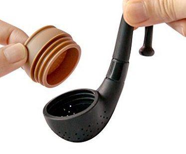 pipe tea infuser lid