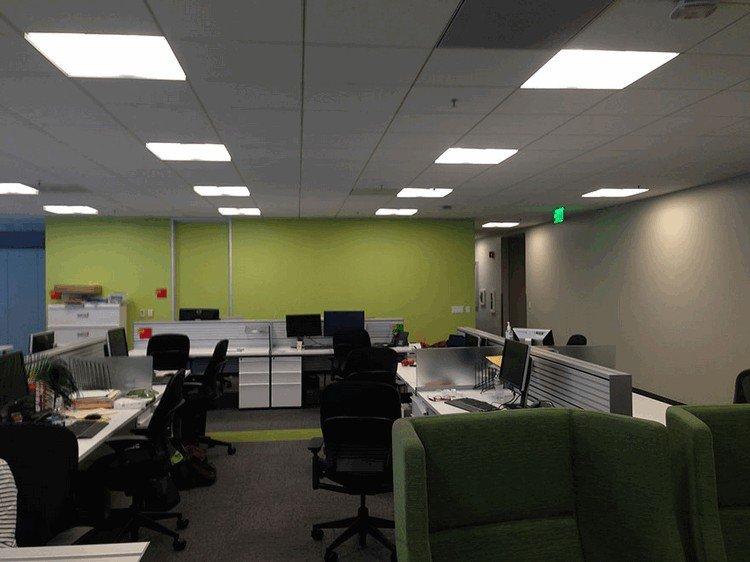 plain office