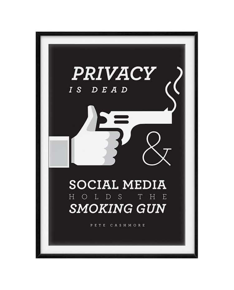 privacy is dead quote