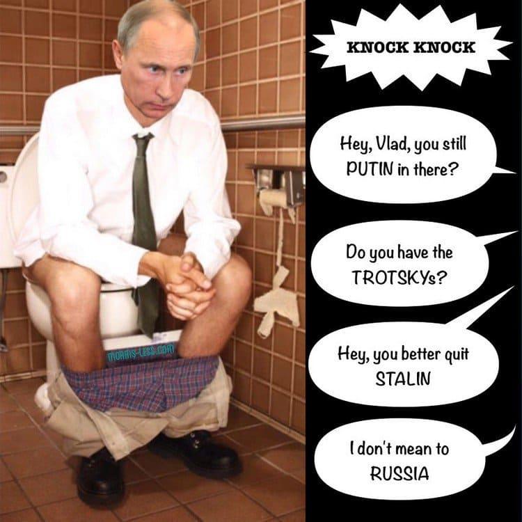 putin toilet