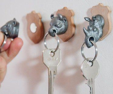 rhino key holder