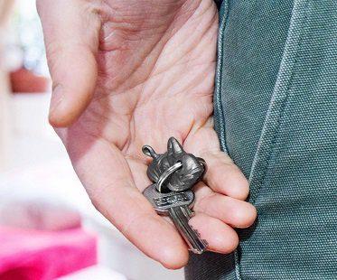 rhino key holder animal head key
