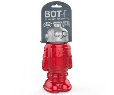 robot sports bottle water