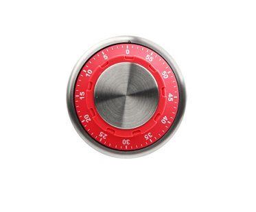 safe lock kitchen timer red