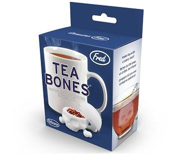 skull and crossbones tea infuser box
