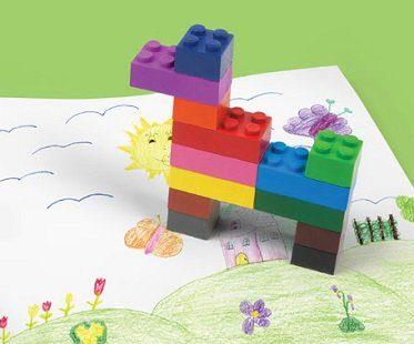 stackable crayons doodle