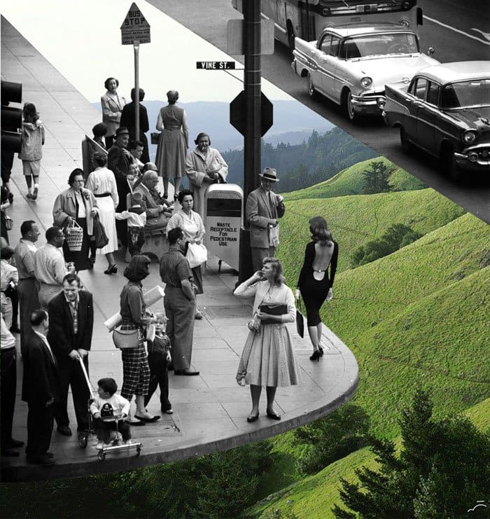 Artist Merve Ozaslan Takes Vintage Photos And Blends Them