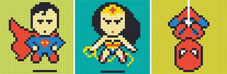 superheroes design