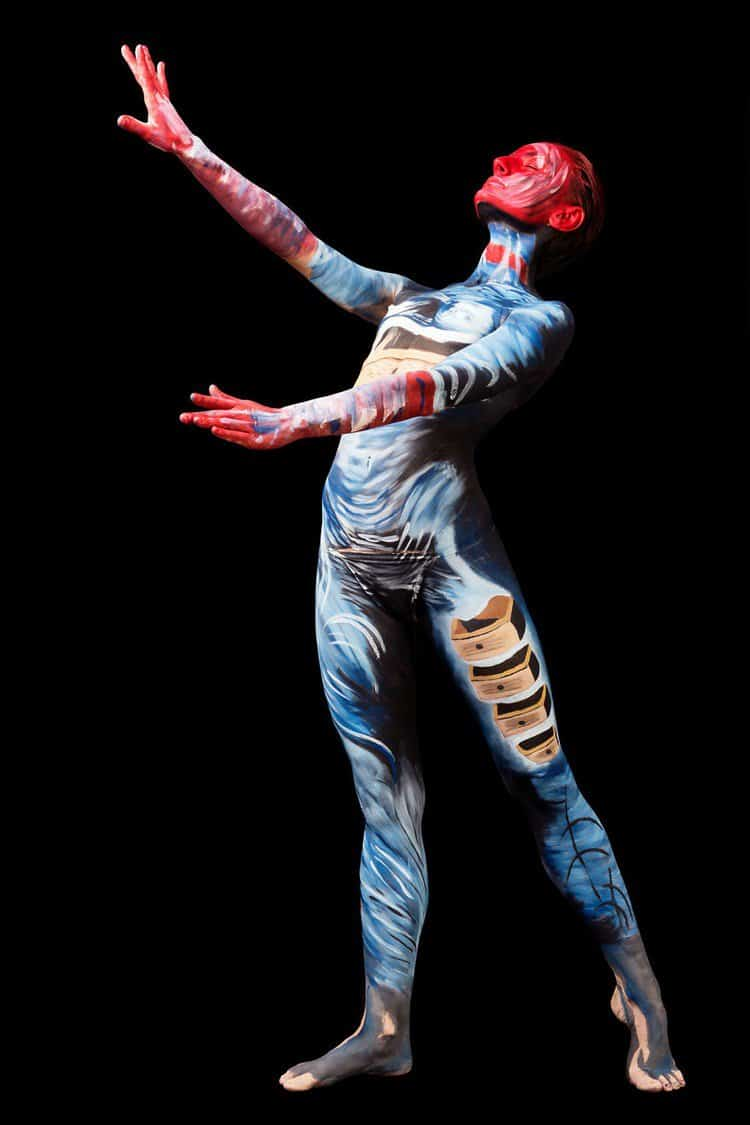 From Canvas To Skin Surrealism Explored Via The Painted Body