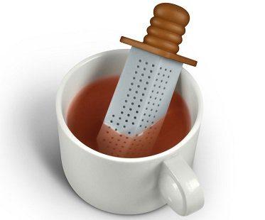 sword tea infuser cup