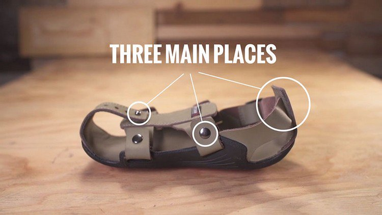 three main places