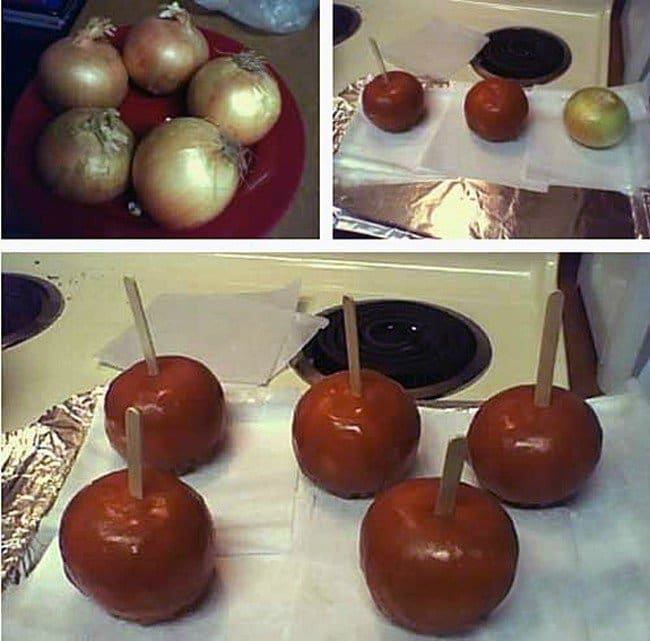 toffee onions