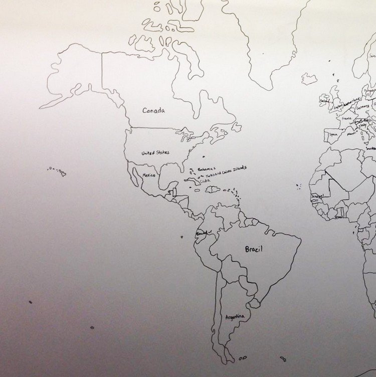 11 year old boy with autism drew the world map using just his memory us map gumiabroncs Image collections