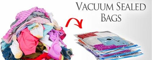 vacuum pack clothes