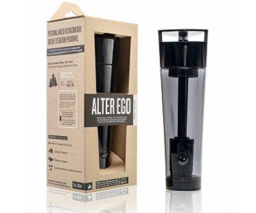 water filtration bottle black box