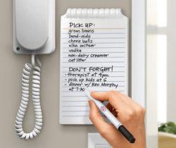 whiteboard notepad
