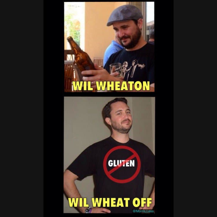will wheaton wheat off