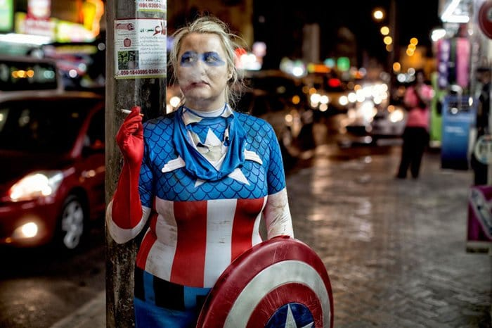 woman captain america