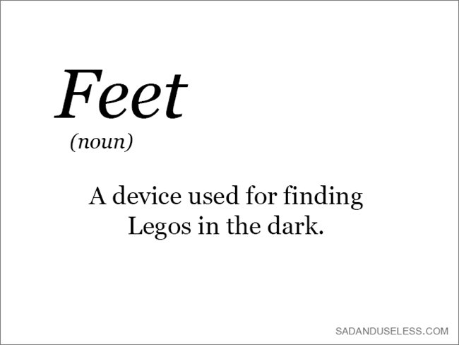 word-feet