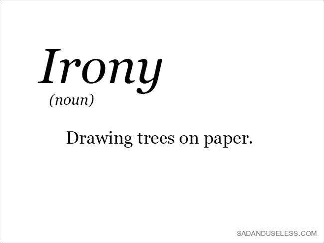 word-irony