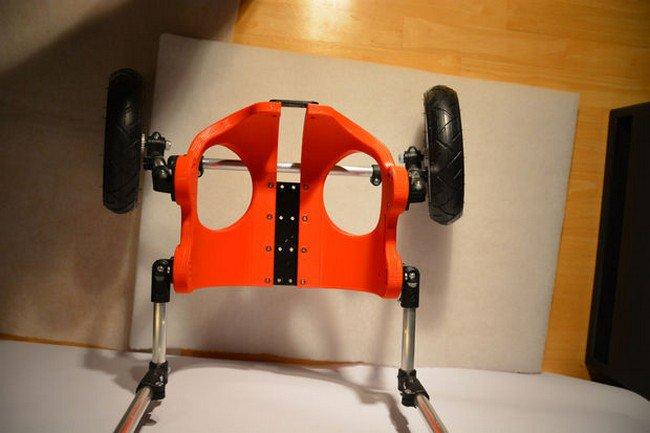 3d printed wheelchair angle