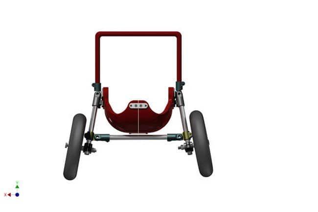 3d printed wheelchair assembling