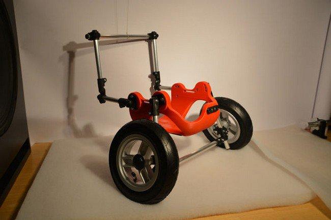 3d printed wheelchair side