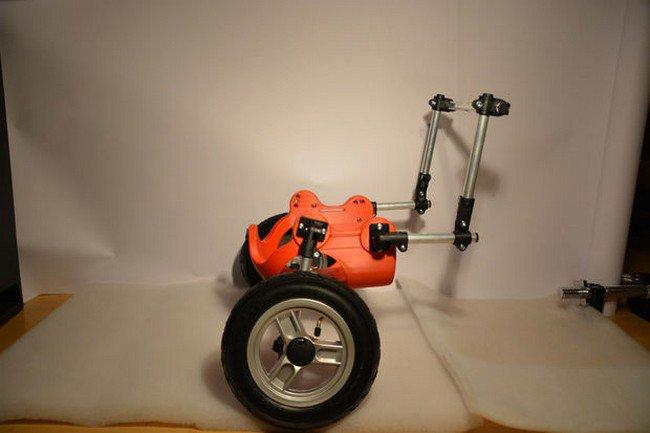 3d printed wheelchair wheels side