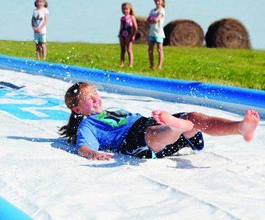 50 foot slip and slide wet