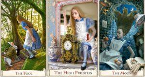 Alice In Wonderland Tarot Cards 150th Anniversary