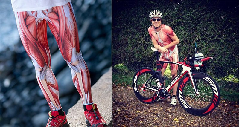 Tomasz Pietek Creates This Awesome Anatomical Muscle Suit That He