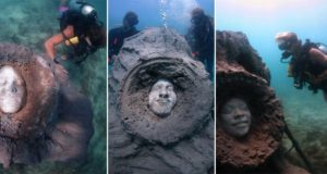 Artist Built A Sculpture And Left It Under The Ocean