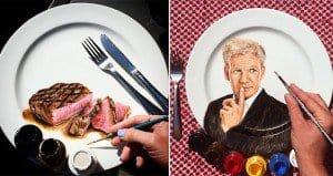 Artwork On Plates