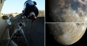 Astrophotographer Combines 32000 Shots To Get High Res Image Of Moon