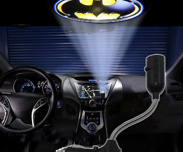 Batman Car Projection Light
