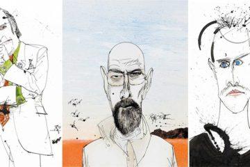Breaking Bad Drawings Ralph Steadman