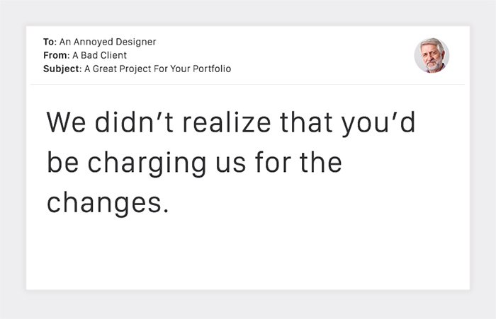 Charging For Changes