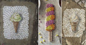 Chicago Potholes Fixed With Flowers And Ice Cream