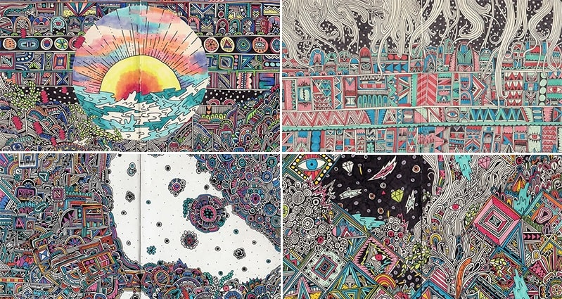 You Will Love These Incredibly Detailed And Colorful ...