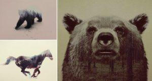 Double Exposure Photos Wildlife