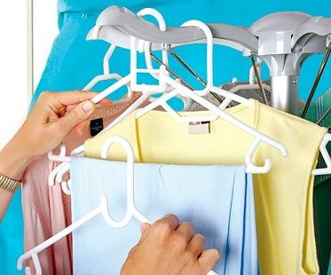 Electric Clothes Dryer hang