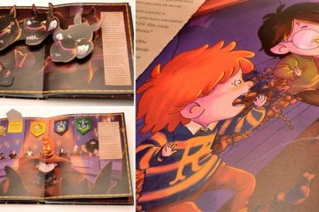 Fully Illustrated Harry Potter Book