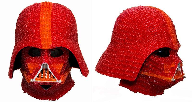 Gummy Bear Darth Vader Helmet