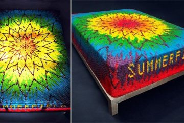 Gummy Bears Bed