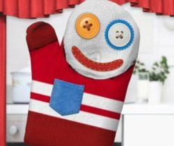 Hand Puppet Oven Glove