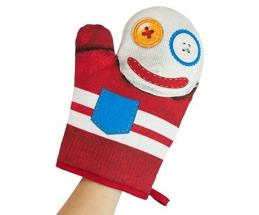 Hand Puppet Oven Glove kitchen