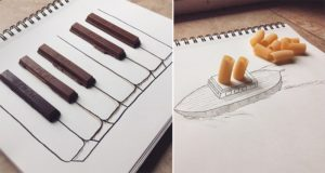 Illustrations Using Everyday Objects